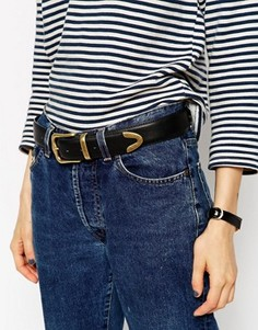 Ремень под джинсы ASOS - Черный