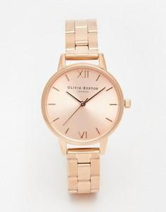 Часы-браслет с циферблатом среднего размера Olivia Burton - Золотой