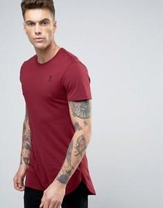 Длинная футболка Religion - Красный