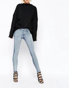 Супероблегающие джинсы Cheap Monday - Синий