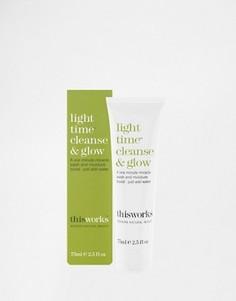 Средство для умывания This Works Light Time Cleanse & Glow 75 мл - Бесцветный