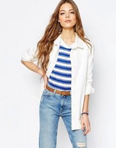Джинсовая куртка‑рубашка M.i.h. Jeans - Кремовый
