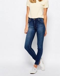 Супероблегающие джинсы Rollas Westcoast - Синий Rollas