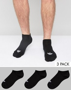 Набор из 3 пар черных носков adidas Originals S20274 - Черный