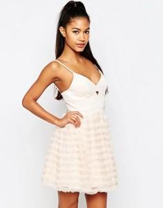 Платье для выпускного мини Ariana Grande For Lipsy Rara - Розовый
