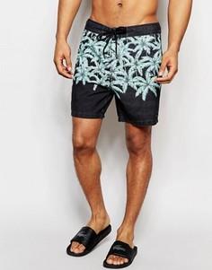 Пляжные шорты длиной 17 дюймов Globe Pitt - Черный