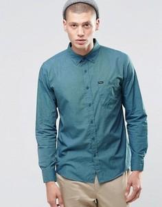 Рубашка классического кроя с карманом спереди Brixton - Синий