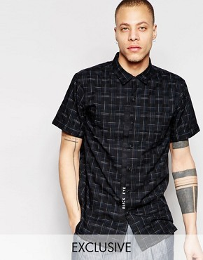 Рубашка с короткими рукавами Black Eye Rags - Черный