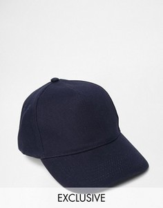 Темно-синяя бейсболка Reclaimed Vintage - Синий