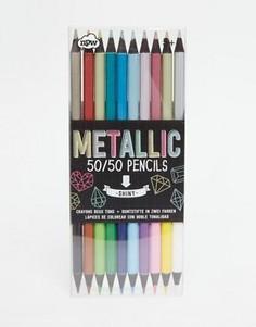 Цветные карандаши NPW 50/50 Metallic - Мульти