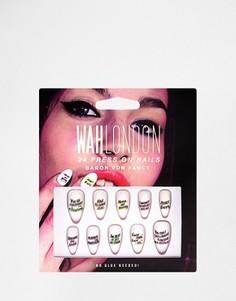 Накладные ногти WAH London - Baron Von Fancy - Мульти