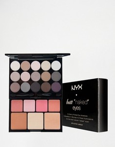 Набор для макияжа NYX Professional Make-Up Butt Naked Eye - Мульти