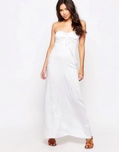 Пляжное платье-бандо макси Phax - Белый
