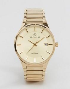 Золотистые наручные часы Accurist - Золотой