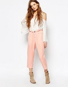 Розовые брюки свободного кроя Vanessa Bruno Athe - Розовый