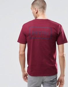 Футболка с логотипом сзади Brixton - Красный