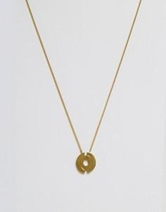 Ожерелье с подвеской Made - Золотой