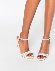 Белые сандалии на каблуке Carvela Kollude - Белый