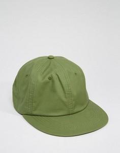 Винтажная зеленая бейсболка ASOS - Зеленый