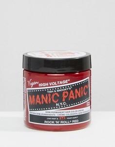 Крем-краска для волос временного действия Manic Panic NYC Classic - классический рок-н-рольный красный - Красный