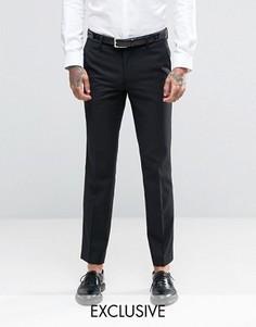 Зауженные брюки под смокинг Farah - Темно-синий