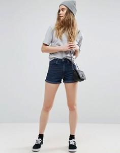 Джинсовые шорты в винтажном стиле ASOS - Синий