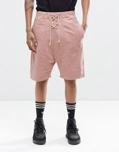 Состаренные шорты Granted - Розовый