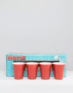 Набор из 4 коротких стаканов Red Cup - Мульти Gifts