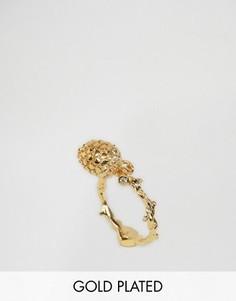 Кольцо с сосновой шишкой Bill Skinner - Золотой