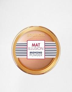 Бронзирующая пудра Bourjois Mat Illusion - Коричневый