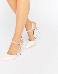 Туфли-лодочки с вырезами Public Desire Karlie - Розовый