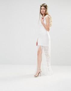 Платье Body Frock Brides Cornflower - Белый