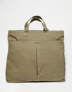 Рюкзак-тоут ASOS Hybrid - Зеленый