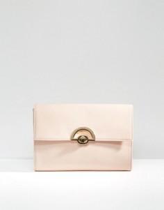Клатч с замочком ASOS - Розовый