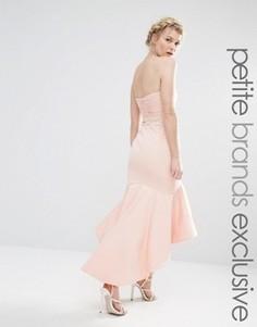 Платье миди бандо Jarlo Petite - Розовый