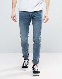 Светлые джинсы слим Religion Noize - Синий