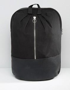 Рюкзак с металлической молнией спереди ASOS - Белый