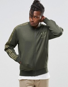 Спортивная куртка adidas Originals B10720 - Зеленый