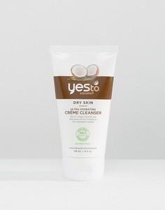 Увлажняющий крем для умывания Yes To Coconuts - 118 мл - Бесцветный