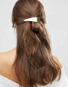 Заколка для волос с абстрактным дизайном ASOS - Золотой