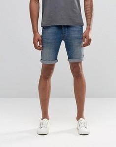 Джинсовые шорты Minimum - Синий