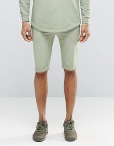 Свободные шорты SikSilk - Зеленый