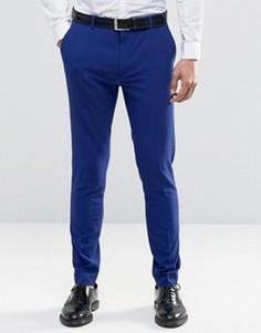 Супероблегающие брюки Selected Homme - Синий