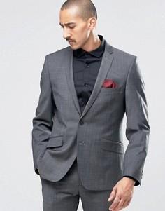 Пиджак суперзауженного кроя Ben Sherman Camden Seattle Prestige - Черный