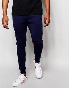 Синие флисовые джоггеры скинни Nike Tech 805162-473 - Синий