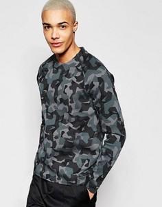 Серый флисовый свитшот Nike Tech 823501-021 - Серый