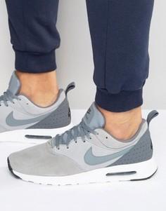 Серые кроссовки Nike Air Max Tavas Ltr 802611-012 - Серый