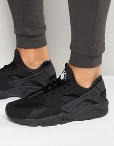 Черные кроссовки Nike Air Huarache 318429-003 - Черный