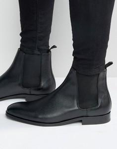 Кожаные ботинки челси Paul Smith Gerald - Черный