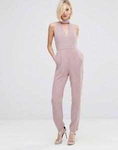 Комбинезон с высокой горловиной Lavish Alice - Фиолетовый
